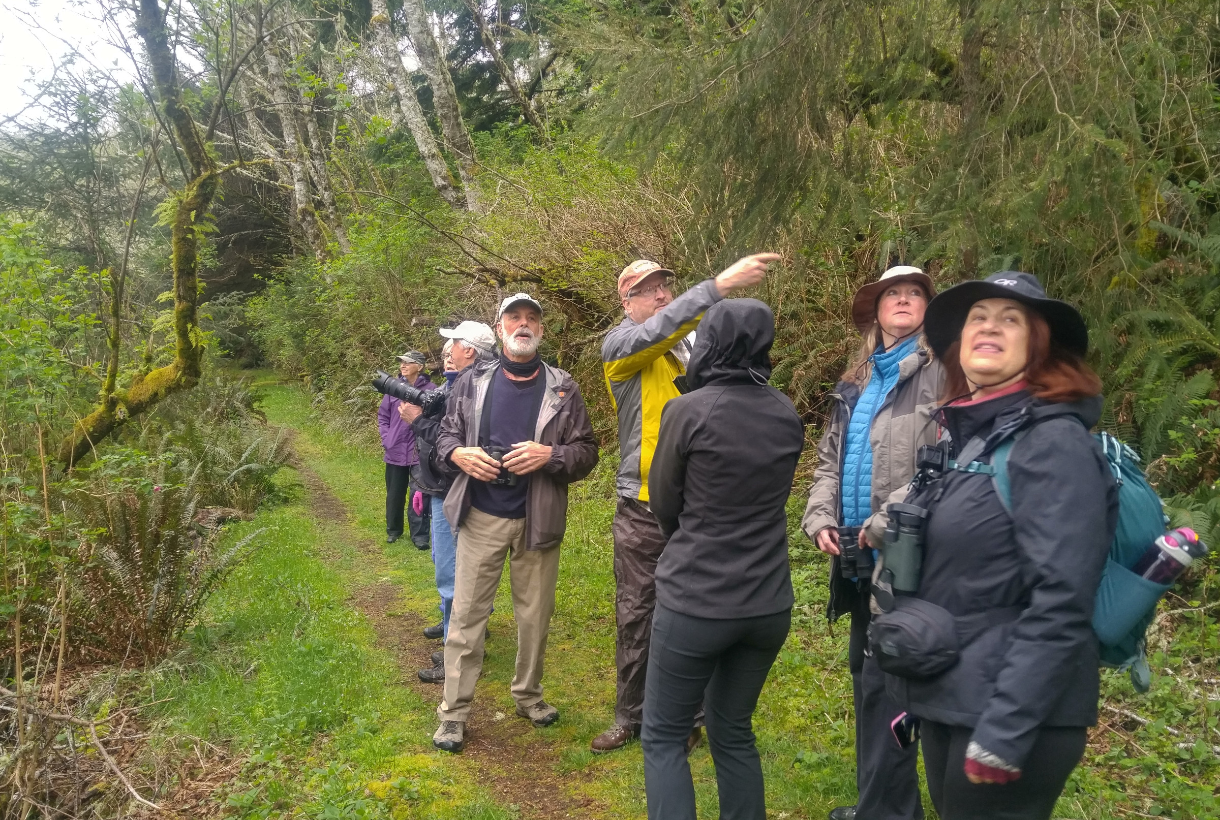 Birding the two rivers trail